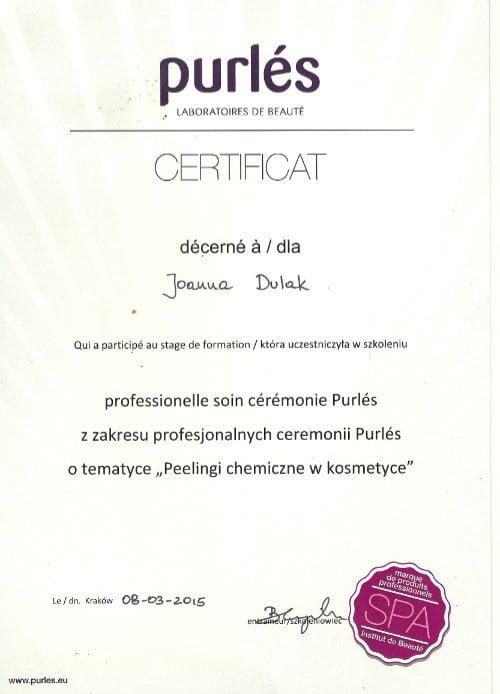 Certyfikat curles