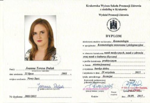 Rose dyplom